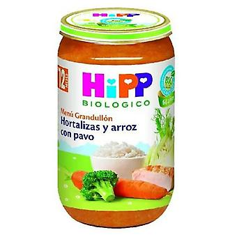 Hipp Potitos Vegetables and Rice with Turkey 250 gr (Childhood , Food , Pots)