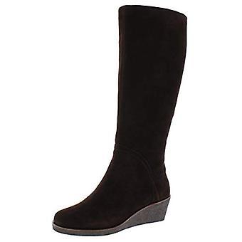 Aerosole Womens Binocular Wildleder Knie-hohe Stiefel braun 8,5 breit (C, D, W)
