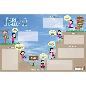 LEARNING CHALLENGE DRYERASE POSTER