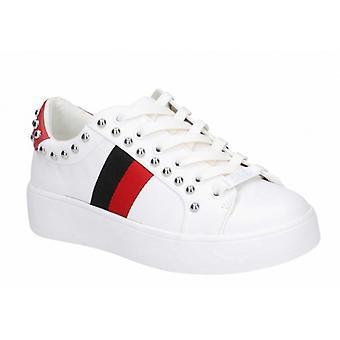 Steve Madden Belle dames casual sneakers wit/multi