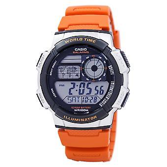 Casio Youth Series Illuminator World Time Alarm AE-1000W-4BV AE1000W-4BV Men's W