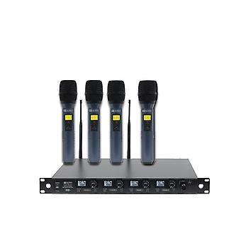 W audio Dqm800h Quad handheld UHF-systeem-Ch70