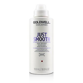 Goldwell Dual Senses Just Smooth 60sec Treatment (control For Unruly Hair) - 500ml/16.9oz