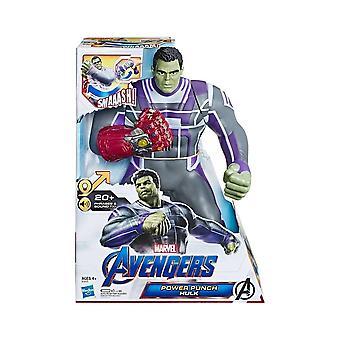 Marvel Avengers Power Punch Hulk Action Figure