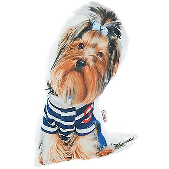 Yorkshire Terrier Dog Shape Filled Pillow Animal Shaped Pillow
