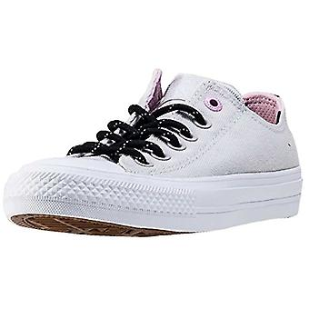 Converse Unisex CTAS II 154015C Sneakers Mouse/White/Cy Pink UK 4