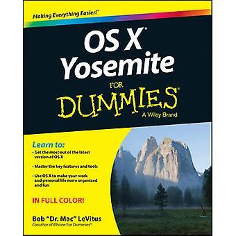 OS X Yosemite For Dummies by Bob Levitus