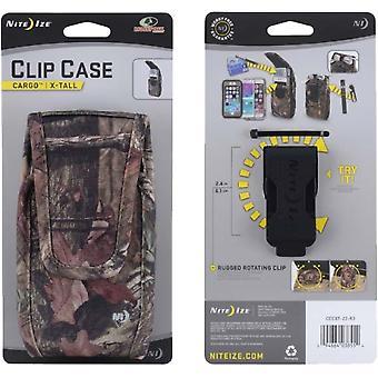 Nite Ize Clip Case Cargo Universal Rugged Holster Mossy Oak