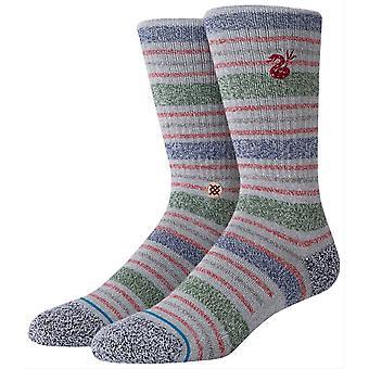 Stance Leslee Socks - Grey/Blue