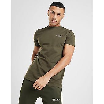 Nya McKenzie Män & apos, essential kortärmad T-shirt Grön