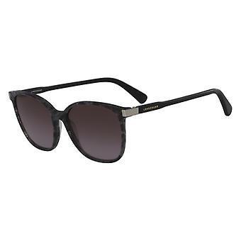 Longchamp LO612S 002 Marble Black/Grey Gradient Sunglasses