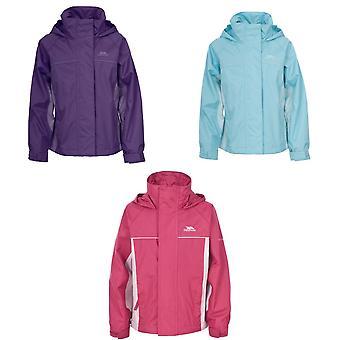 Trespass Childrens Girls Sooki Hooded Waterproof Jacket/Coat
