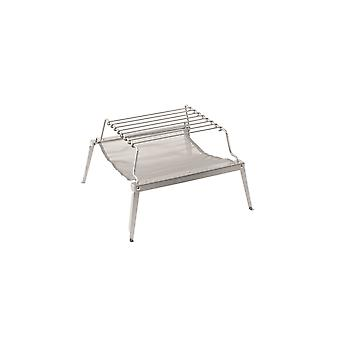Robens Timber Mesh 2-In-1 Stainless Steel Outdoor Grill And Fireplace