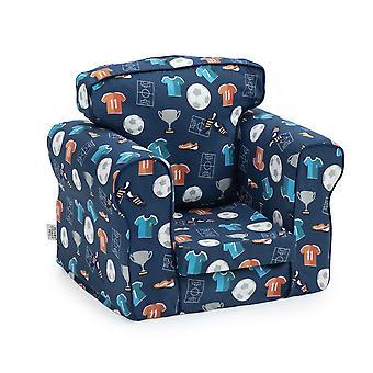 Pronto letto stabile imbottito bambini poltrona bambino Mobili comodi per bambini Divano sala da gioco Soft Child Safe Seat Sedia ergonomicamente progettata (Campione)