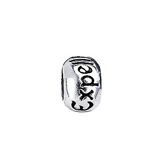 Harry Potter Sterling Silver Expelliarmus Spell Bead Slider Charm