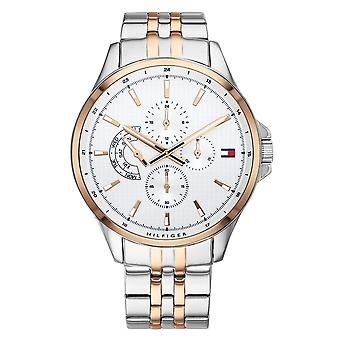 Tommy Hilfiger Watches 1791617 Rose Gold And Silver Men's Watch
