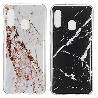 Huawei P30 Lite - Shell / Protection / Marble