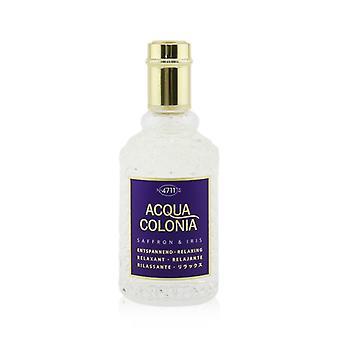 4711 Acqua Colonia Saffron & Iris Eau De Cologne Spray - 50ml/1.7oz