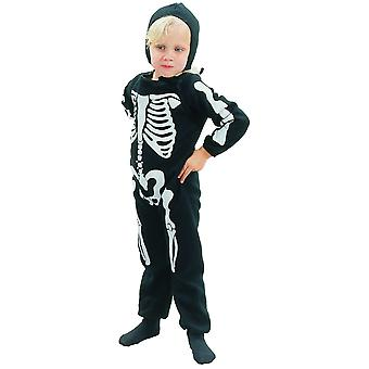Bristol Novelty Boys Skeleton Costume