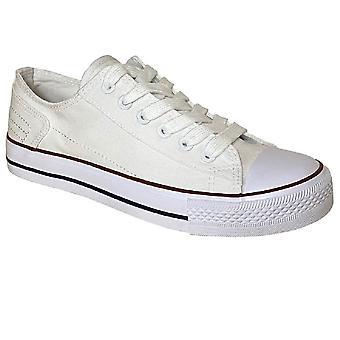 Dek Womens/Ladies Canvas Trainer Shoe