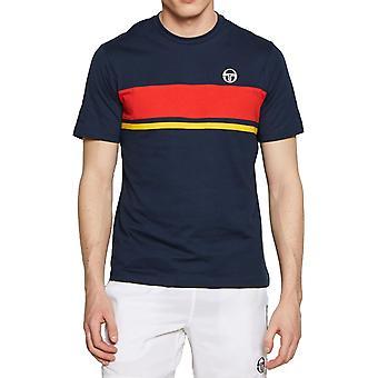 Sergio Tacchini Feluga T-Shirt Navy 74