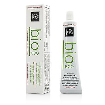 Bio eco natural protection toothpaste with fennel & propolis 201608 75ml/2.53oz