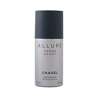 Spray Deodorant Allure Homme Sport Chanel (100 ml) (100 ml)