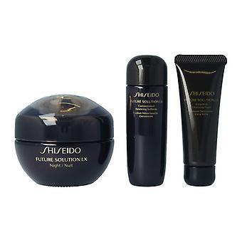 Women's Cosmetics Set Future Solution Lx Night Shiseido (3 uds)