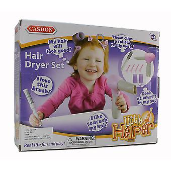 Casdon Little Helper Hair Dryer Kit