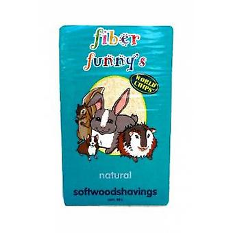 Fiber Funny's Pressed chip 2,5Kg. (Small pets , Bedding)