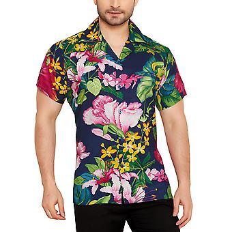 Club cubana men's regular fit classic short sleeve casual shirt ccc90