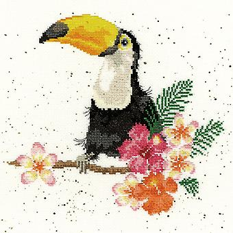 Bothy Threads Cross Stitch Kit - Toucan minun kiintymystä