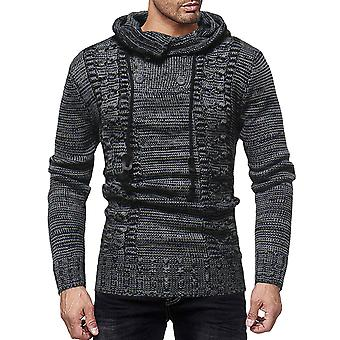 Cloudstyle Men's Hoodies Button Soft Hooded Sweater