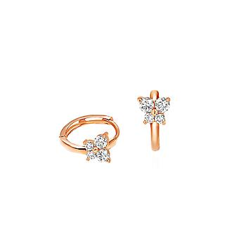 Baby Earrings Fairy 18K Gold and Diamonds