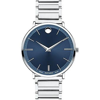 Movado - Wristwatch - Men - 0607168 - ULTRA SLIM - Quartz Watch