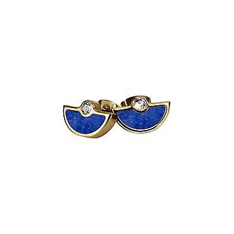 Jacques Lemans - Studs with lapis lazuli - S-O67H