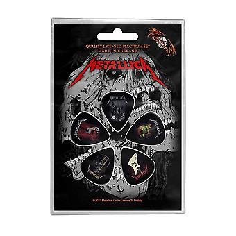 Metallica Plectrum Pack kitarat Band logo uusi virallinen 5 Pack Guitar Picks