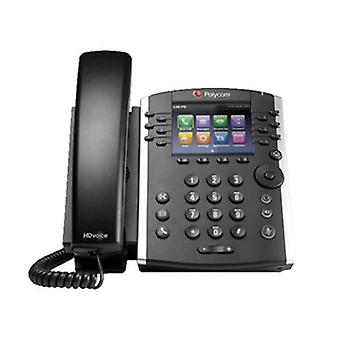 Polycom Vvx 411 Desktop Phone Skype Lync Poe