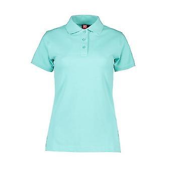 ID Womens/Ladies Stretch Slightly Shaped Polo Shirt