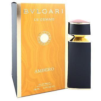 Bvlgari Le Gemme Ambero Eau De Parfum Spray By Bvlgari 3.4 oz Eau De Parfum Spray