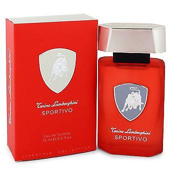 Lamborghini sportivo eau de toilette spray by tonino lamborghini 551274 75 ml