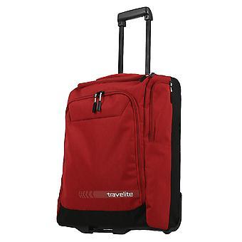 travelite Kick Off Vaunu Travel Bag 2 Pyörät, 55 cm, 44 L, Punainen
