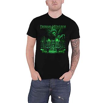 Demons & Wizards T Shirt DW III Band Logo new Official Mens Black