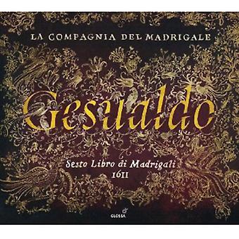 Carlo Gesualdo - Carlo Gesualdo: Sesto Libro Di Madrigali [CD] USA import