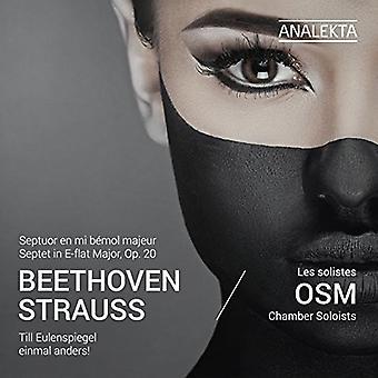 Beethoven / Les Solistes Osm / Osm Chamber - Beethoven: Septet E-Flat / R. Strauss: Till Eulens [CD] USA import