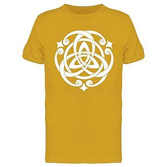 Celtic Knot Motif Design Tee Uomini's -Immagine di Shutterstock