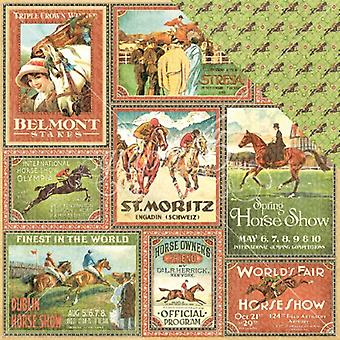 Graphic 45 Belmont Stakes 12x12 Inch 25 pc. (4501448)