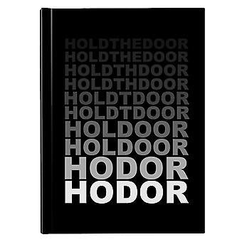 Hodor Hold The Door Fade Game Of Thrones Hardback Journal