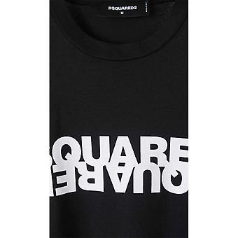 Dsquared2 Contrasterend Logo T-shirt