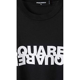 Dsquared2 Kontrasterende Logo T-skjorte